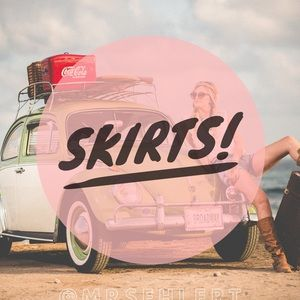Dresses & Skirts - Skirts!